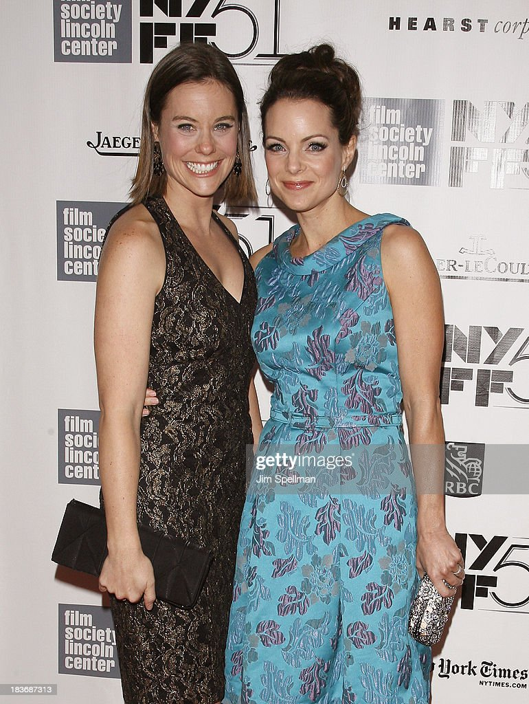 Actors Ashley Williams and Kimberly Williams-Paisley attend the 'All Is Lost' Premiere during the 51st New York Film Festival at Alice Tully Hall at Lincoln Center on October 8, 2013 in New York City.