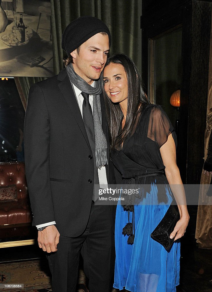 celebrity photo gallery image pictures demi moore ashton kutcher special screening strings attached