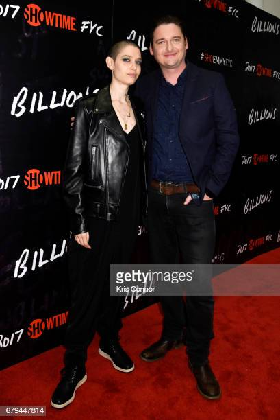Actors Asia Kate Dillon and Toby Leonard Moore attend the SHOWTIMEpresented screening panel discussion and reception for episode 211 of the hit...