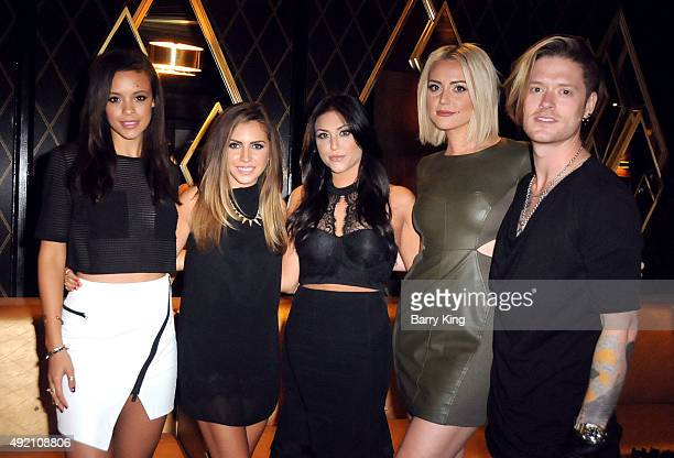 Actors Aubrey Cleland Haley Pharo Cassie Scerbo Katie Welch and Nash Overstreet attend Boo2Bullying Benefit to support art therapy outreach programs...