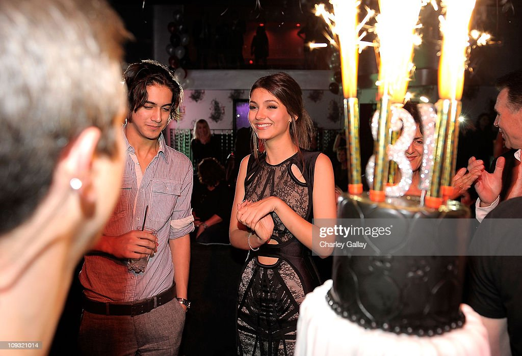 Victoria Justice Celebrates Her Birthday | Getty Images