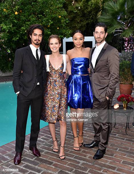 Actors Avan Jogia Zoey Deutch Ashley Madekwe and Iddo Goldberg attend the Vainty Fair and Spike celebration of the premiere of the new series 'TUT'...