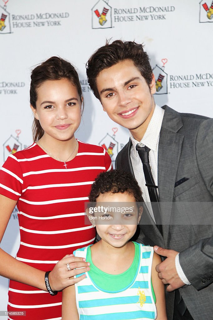 Actors <a gi-track='captionPersonalityLinkClicked' href=/galleries/search?phrase=Bailee+Madison&family=editorial&specificpeople=4136620 ng-click='$event.stopPropagation()'>Bailee Madison</a> (L) and <a gi-track='captionPersonalityLinkClicked' href=/galleries/search?phrase=Jake+T.+Austin&family=editorial&specificpeople=709221 ng-click='$event.stopPropagation()'>Jake T. Austin</a> attends Variety's Power of Youth presented by Hasbro, Inc. and generationOn at Universal Studios Backlot on July 27, 2013 in Universal City, California.