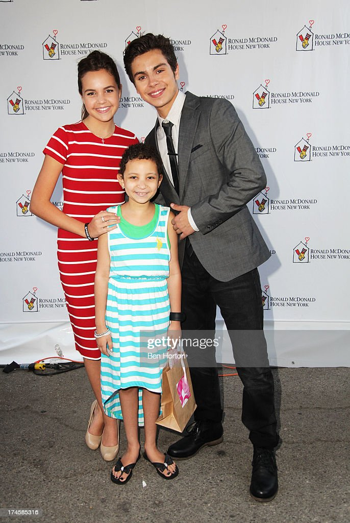 Actors <a gi-track='captionPersonalityLinkClicked' href=/galleries/search?phrase=Bailee+Madison&family=editorial&specificpeople=4136620 ng-click='$event.stopPropagation()'>Bailee Madison</a> (L), guest and <a gi-track='captionPersonalityLinkClicked' href=/galleries/search?phrase=Jake+T.+Austin&family=editorial&specificpeople=709221 ng-click='$event.stopPropagation()'>Jake T. Austin</a> attends Variety's Power of Youth presented by Hasbro, Inc. and generationOn at Universal Studios Backlot on July 27, 2013 in Universal City, California.