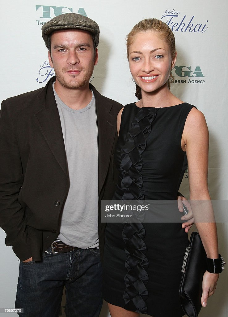 Actors Balthazar Getty and Rebecca Gayheart attends The Gersh Agency EMMY Party w/Special Guest Frederic Fekkai held at The Terrace at Sunset Tower Hotel on September 14, 2007 in LosAngeles, California.