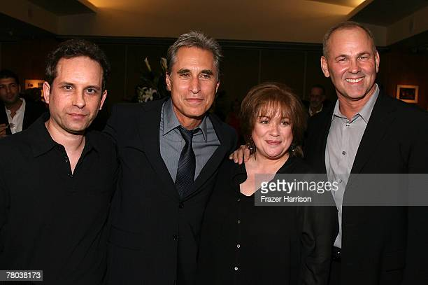 Actors Barry Miller Joseph Cali Donna Pescow and Paul Pape attends the Academy of Motion Picture Arts and Sciences 30th anniversary screening of...