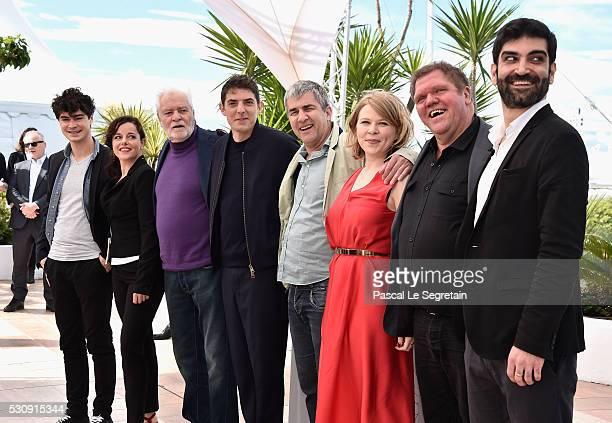 Actors Basile Meilleurat Laure Calamy Christian Bouillette Damien Bonnard director Alain Guiraudie actors India Hair Raphael Thiery and Sebastien...