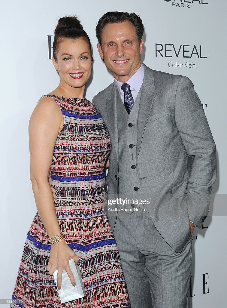 Actors Bellamy Young and Tony Goldwyn arrive at the 21st Annual ELLE Women In Hollywood Awards at Four Seasons Hotel Los Angeles at Beverly Hills on...