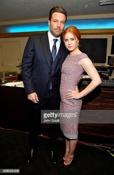 Actors Ben Affleck and Amy Adams attend the 18th Annual Hollywood Film Awards at The Palladium on November 14 2014 in Hollywood California
