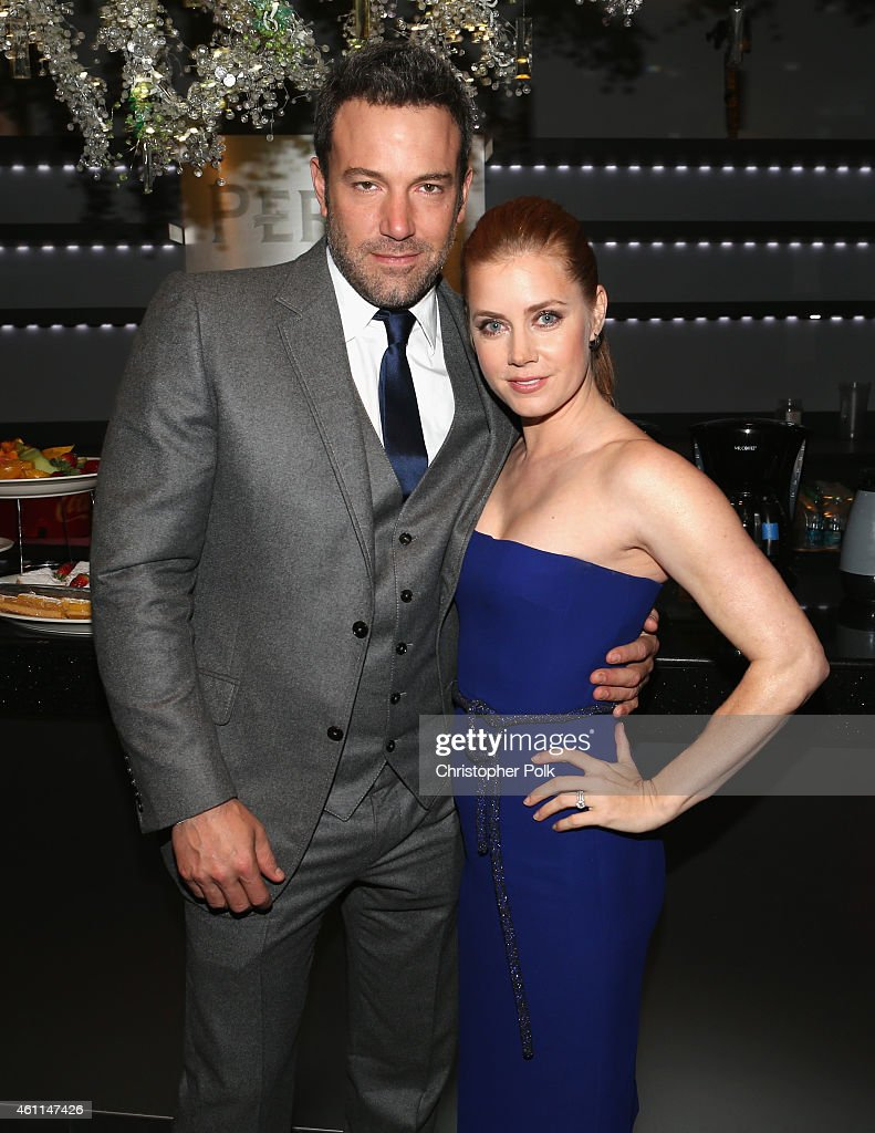 Actors Ben Affleck (L) and Amy Adams attend The 41st Annual People's Choice Awards at Nokia Theatre LA Live on January 7, 2015 in Los Angeles, California.