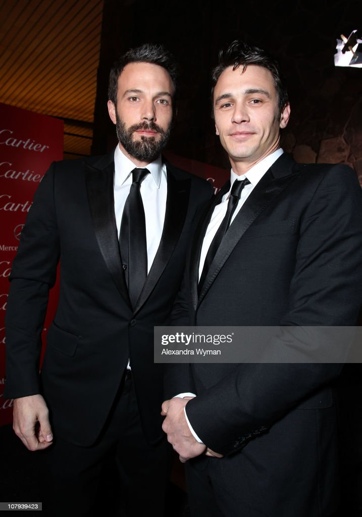 Actors <a gi-track='captionPersonalityLinkClicked' href=/galleries/search?phrase=Ben+Affleck&family=editorial&specificpeople=201856 ng-click='$event.stopPropagation()'>Ben Affleck</a> and <a gi-track='captionPersonalityLinkClicked' href=/galleries/search?phrase=James+Franco&family=editorial&specificpeople=577480 ng-click='$event.stopPropagation()'>James Franco</a> arrive at the 22nd Annual Palm Springs International Film Festival Awards Gala at the Palm Springs Convention Center on January 8, 2011 in Palm Springs, California.