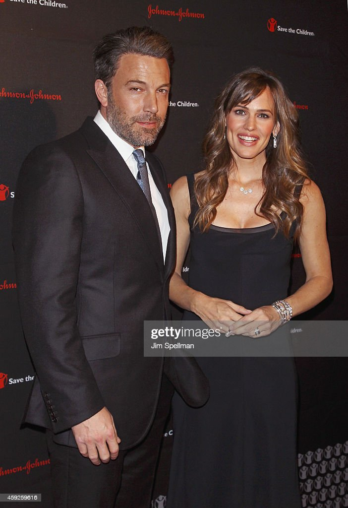 Actors Ben Affleck and Jennifer Garner attend the 2nd annual Save the Children Illumination Gala at the Plaza Hotel on November 19, 2014 in New York City.