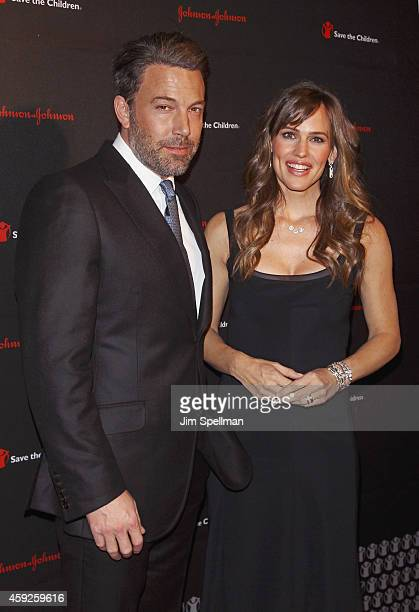 Actors Ben Affleck and Jennifer Garner attend the 2nd annual Save the Children Illumination Gala at the Plaza Hotel on November 19 2014 in New York...