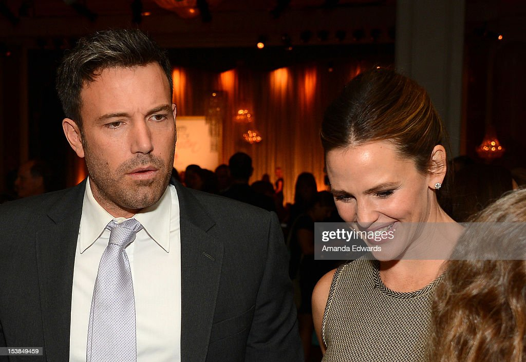 Actors <a gi-track='captionPersonalityLinkClicked' href=/galleries/search?phrase=Ben+Affleck&family=editorial&specificpeople=201856 ng-click='$event.stopPropagation()'>Ben Affleck</a> and <a gi-track='captionPersonalityLinkClicked' href=/galleries/search?phrase=Jennifer+Garner&family=editorial&specificpeople=201813 ng-click='$event.stopPropagation()'>Jennifer Garner</a> attend Variety's 4th Annual Power of Women Event Presented by Lifetime at the Beverly Wilshire Four Seasons Hotel on October 5, 2012 in Beverly Hills, California.