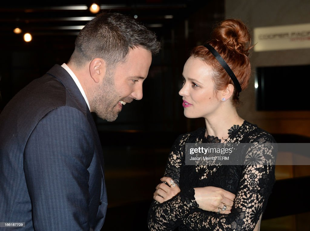 Actors <a gi-track='captionPersonalityLinkClicked' href=/galleries/search?phrase=Ben+Affleck&family=editorial&specificpeople=201856 ng-click='$event.stopPropagation()'>Ben Affleck</a> and <a gi-track='captionPersonalityLinkClicked' href=/galleries/search?phrase=Rachel+McAdams&family=editorial&specificpeople=212942 ng-click='$event.stopPropagation()'>Rachel McAdams</a> attend the premiere of Magnolia Pictures' 'To The Wonder' at Pacific Design Center on April 9, 2013 in West Hollywood, California.