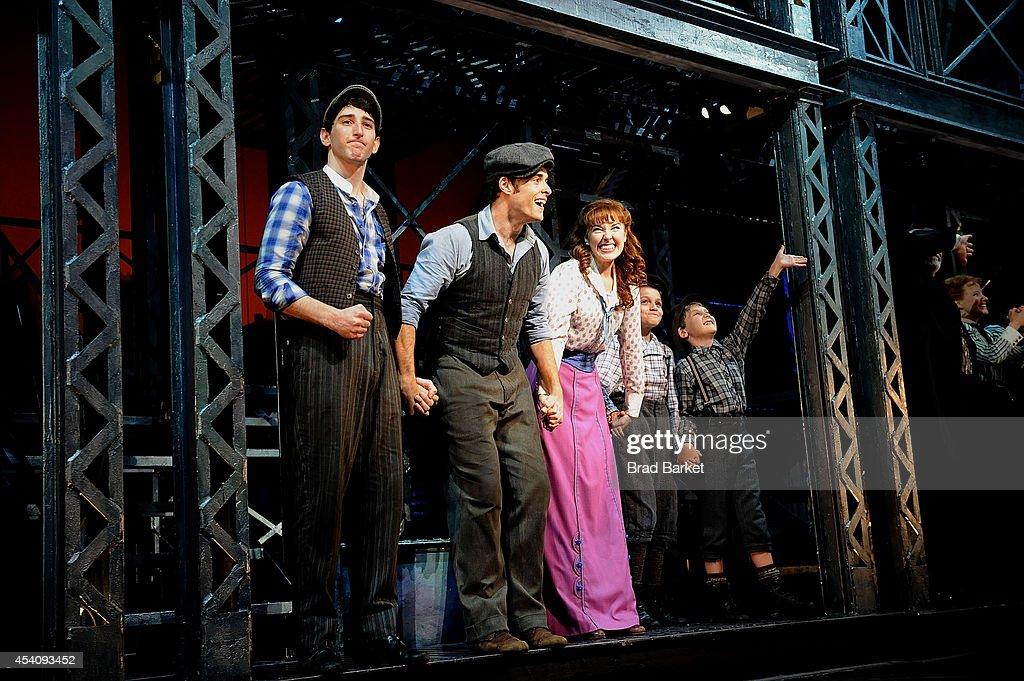 """Newsies"" Final Broadway Curtain Call"