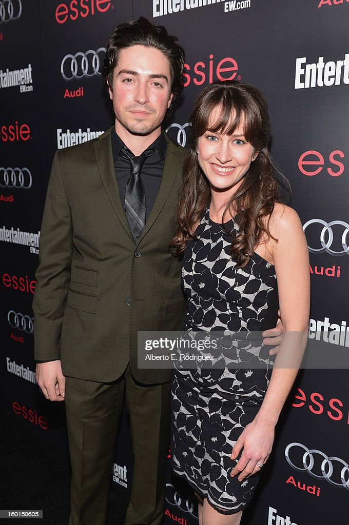 Actors <a gi-track='captionPersonalityLinkClicked' href=/galleries/search?phrase=Ben+Feldman&family=editorial&specificpeople=709365 ng-click='$event.stopPropagation()'>Ben Feldman</a> (L) and Michelle Mulitz attend the Entertainment Weekly Pre-SAG Party hosted by Essie and Audi held at Chateau Marmont on January 26, 2013 in Los Angeles, California.