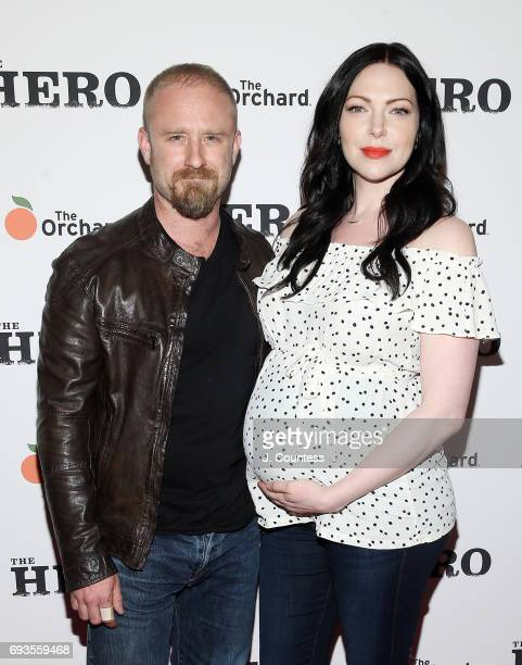 Actors Ben Foster and Laura Prepon attend 'The Hero' New York Premiere at the Whitby Hotel on June 7 2017 in New York City
