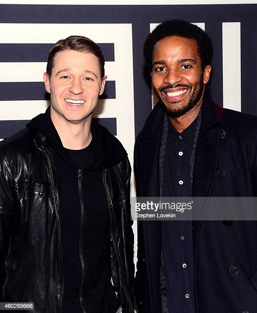 Actors Ben McKenzie and Andre Holland attend WIRED Store 10th Anniversary Party in New York City Presented by BMW i and Oakley in New York City on...