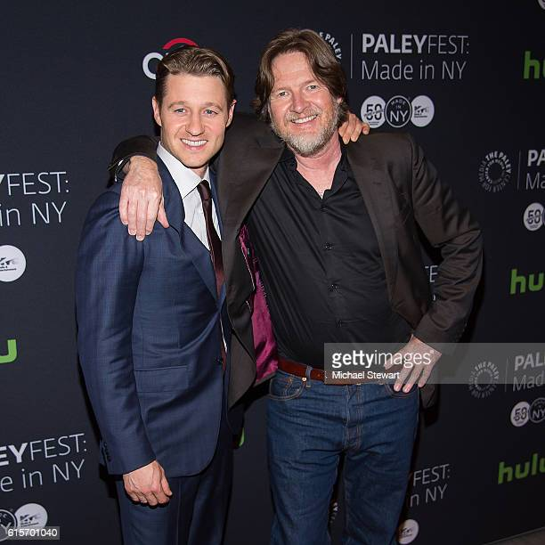 Actors Ben McKenzie and Donal Logue attend PaleyFest New York 2016 presents 'Gotham' at The Paley Center for Media on October 19 2016 in New York City