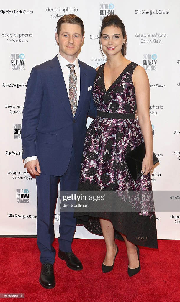 Actors Ben McKenzie and Morena Baccarin attend the 26th Annual Gotham Independent Film Awards at Cipriani Wall Street on November 28, 2016 in New York City.