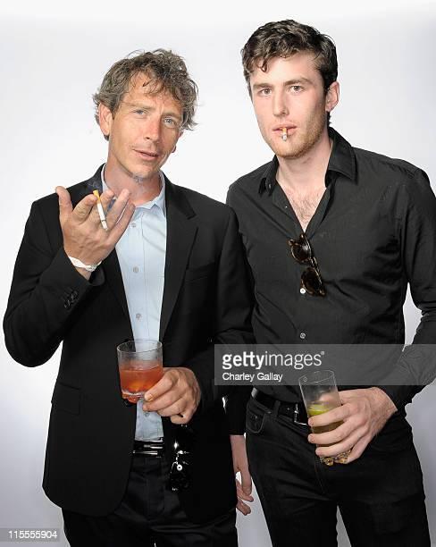 Actors Ben Mendelsohn and James Frecheville pose for a portrait during Australians in Film's 2011 Breakthrough Awards at the Thompson Hotel on June 7...