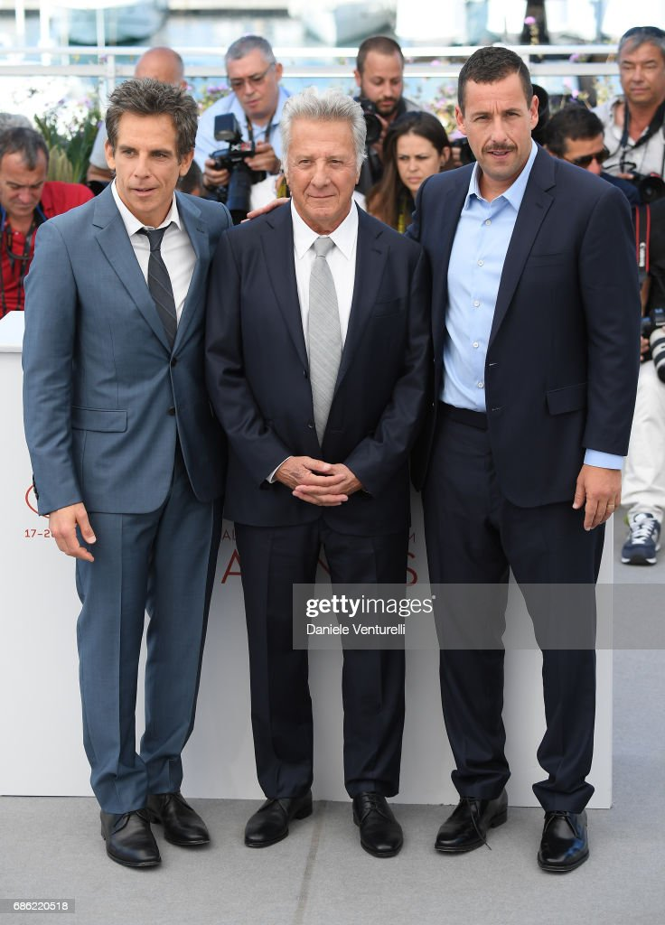 ¿Cuánto mide Dustin Hoffman? - Altura - Real height Actors-ben-stiller-dustin-hoffman-and-adam-sandler-attend-the-the-picture-id686220518