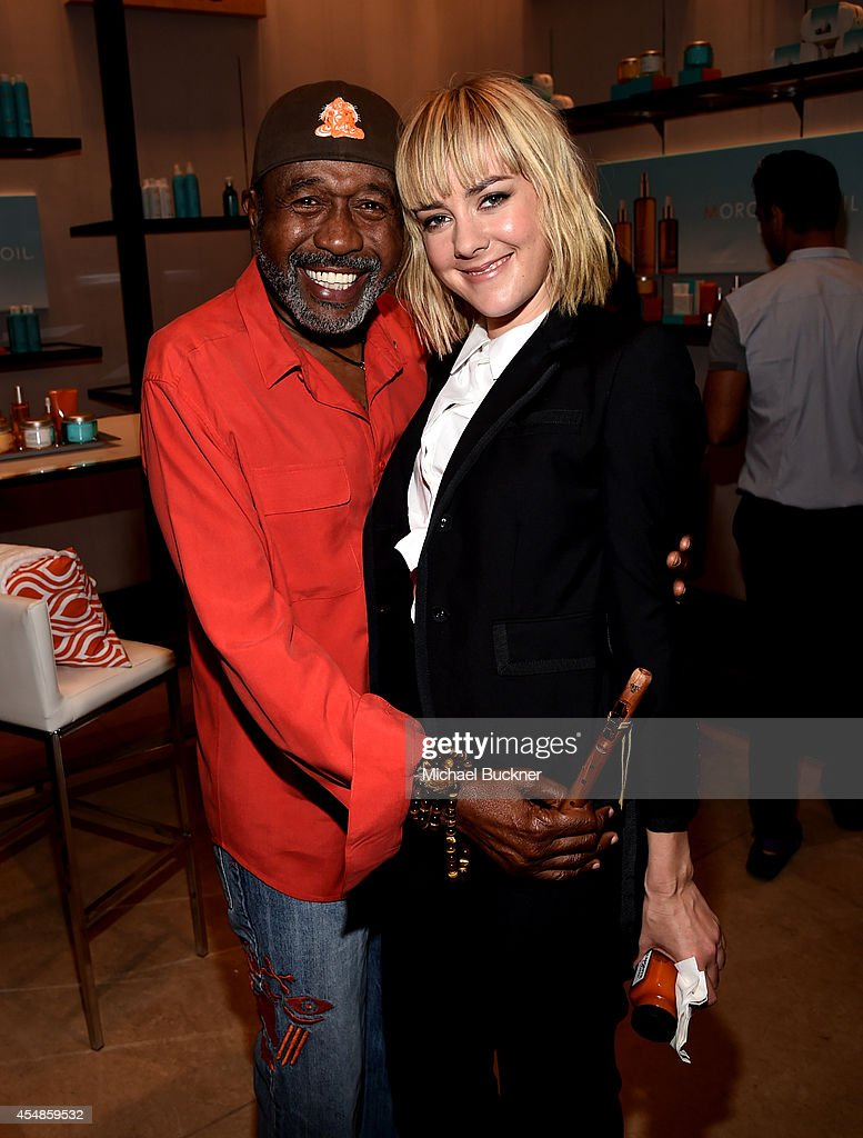 Actors Ben Vereen and Jena Malone attend the Variety Studio presented by Moroccanoil at Holt Renfrew during the 2014 Toronto International Film...