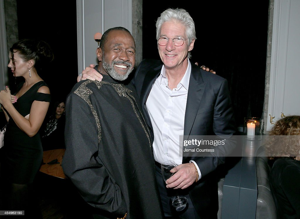 Actors Ben Vereen and Richard Gere attend 'Time Out of Mind' party hosted by Ferragamo Eyewear at the Storys Building on September 7 2014 in Toronto...