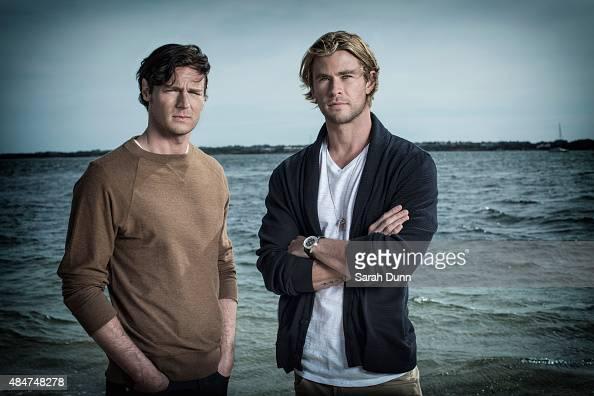 Actors Benjamin Walker and Chris Hemsworth are photographed for Entertainment Weekly magazine on October 6 2014 in Nantucket Massachusetts