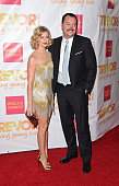 Actors Beth Behrs and Michael Gladis attend 'TrevorLIVE LA' Honoring Robert Greenblatt Yahoo and Skylar Kergil for The Trevor Project at Hollywood...