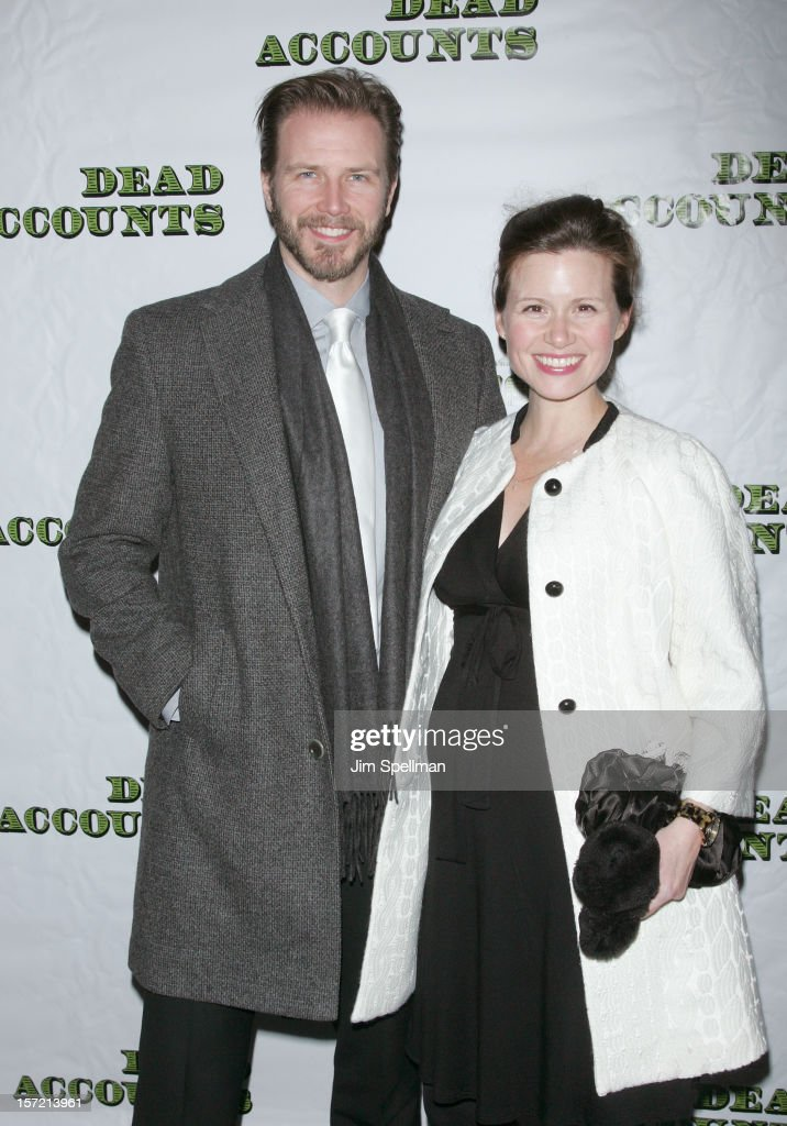 Actors Bill Heck and Maggie Lacey attend 'Dead Accounts' Broadway Opening Night at Music Box Theatre on November 29, 2012 in New York City.