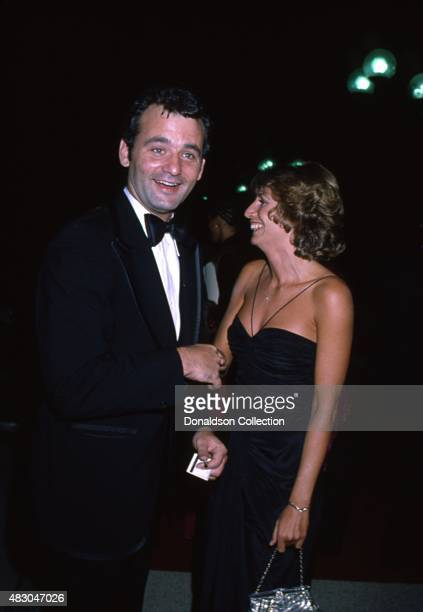Actors Bill Murray and Penny Marshall attend an event in September 1980 in Los Angeles California