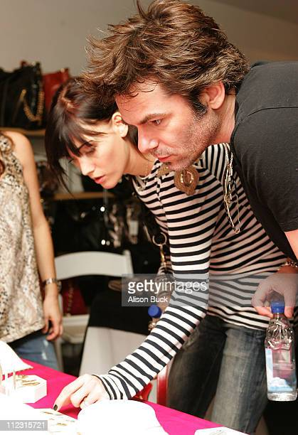 Actors Billy Burke and Pollyanna Rose pose at the Kari Feinstein Golden Globes Style Lounge at Zune LA on January 15 2010 in Los Angeles California