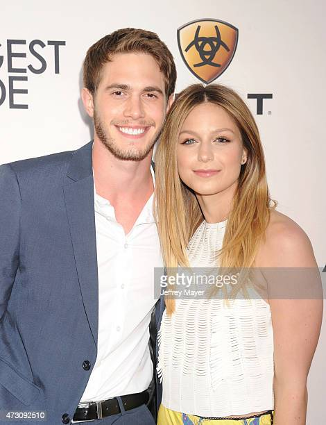 Actors Blake Jenner and Melissa Benoist attend the premiere of Twentieth Century Fox's 'The Longest RIde' at the TCL Chinese Theatre IMAX on April 6...
