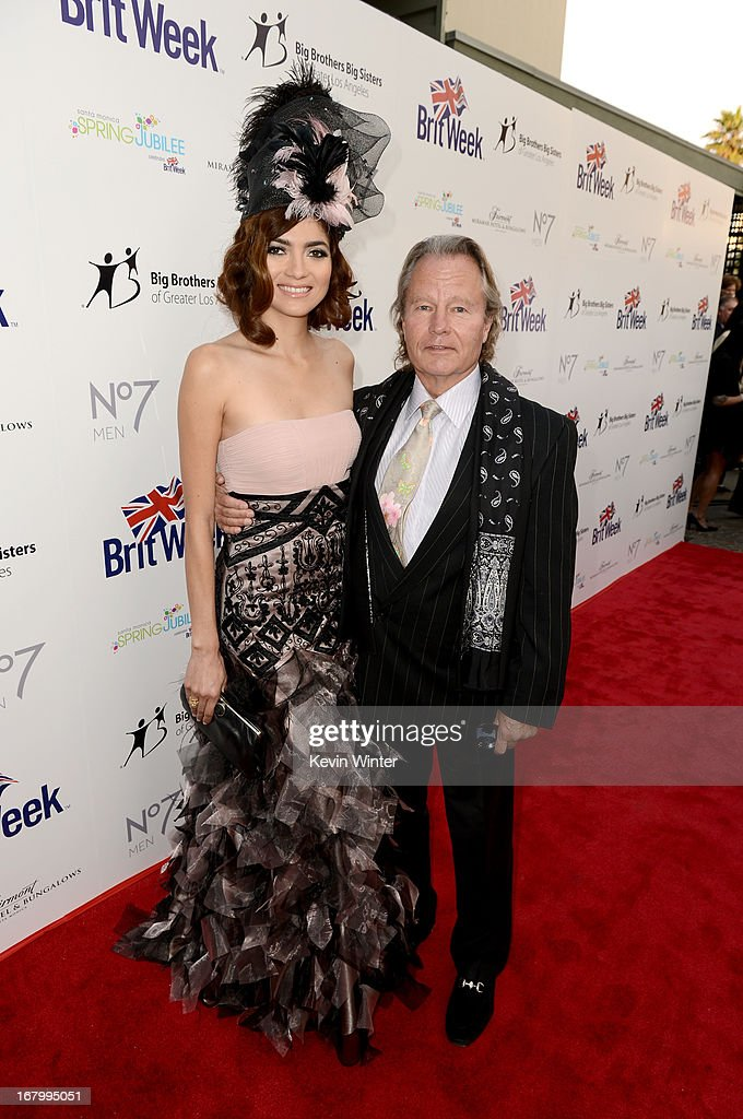 Actors Blanca Blanco and John Savage attend BritWeek Celebrates Downton Abbey at The Fairmont Miramar Hotel on May 3, 2013 in Santa Monica, California.