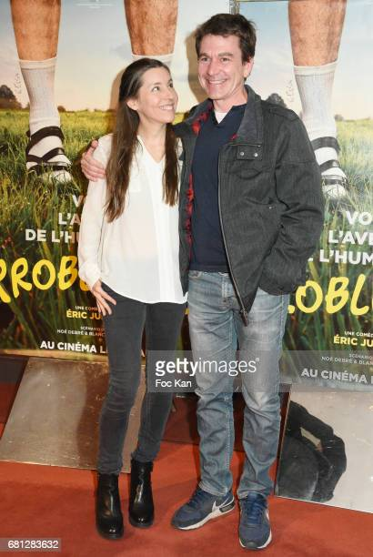Actors Blandine Ruiz and Marc Fraize attend 'Problemos' Paris Premiere At UGC Cine Cite Les Halles on May 9 2017 in Paris France
