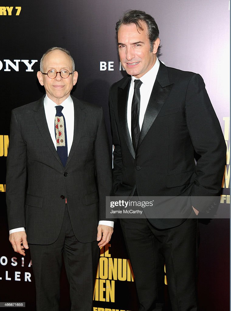 """The Monuments Men"" New York Premiere - Inside Arrivals"