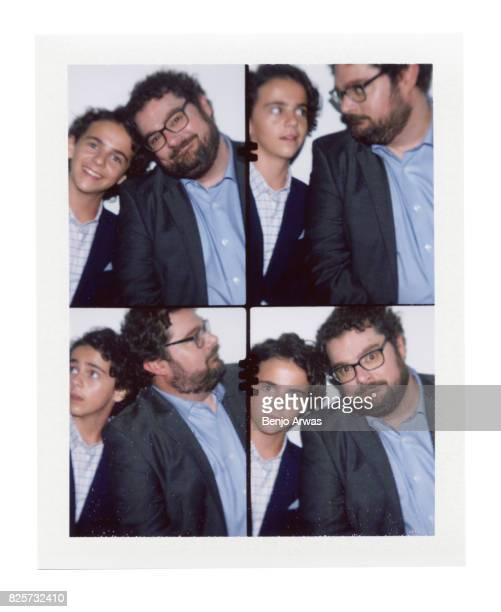Actors Bobby Moynihan and Jack Dylan Grazer of CBS's ''Me Myself I'' are photographed on polaroid film during the 2017 Summer Television Critics...