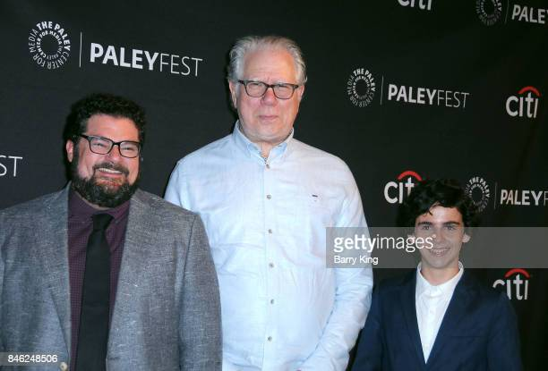 Actors Bobby Moynihan John Larroquette and Jack Dylan Grazer attend The Paley Center For Media's 11th Annual PaleyFest Fall TV Previews Los Angeles...