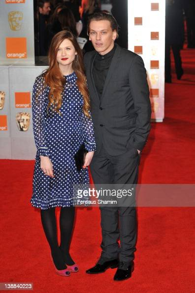 Actors Bonnie Wright and Jamie Campbell attend the Orange British Academy Film Awards 2012 at the Royal Opera House on February 12 2012 in London...