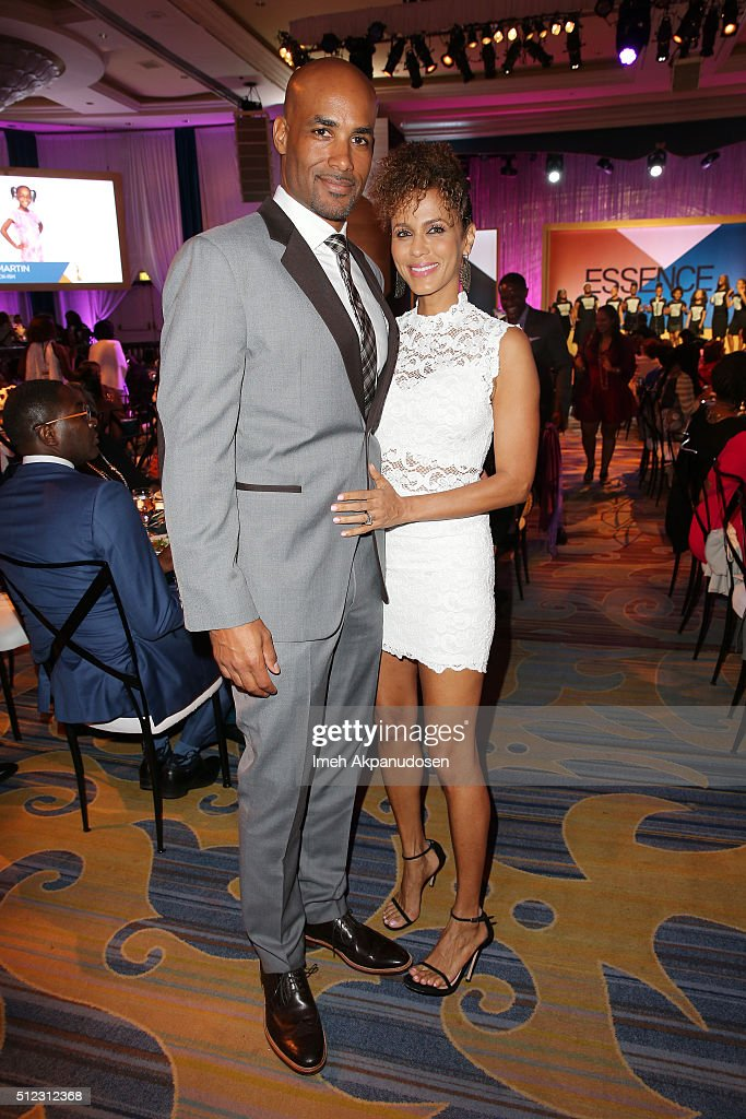 Actors Boris Kodjoe and Nicole Ari Parker attend the 2016 ESSENCE Black Women In Hollywood awards luncheon at the Beverly Wilshire Four Seasons Hotel...