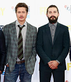 Actors Brad Pitt and Shia LeBeouf attend the photocall for 'Fury' during the 58th BFI London Film Festival at The Corinthia Hotel on October 19 2014...