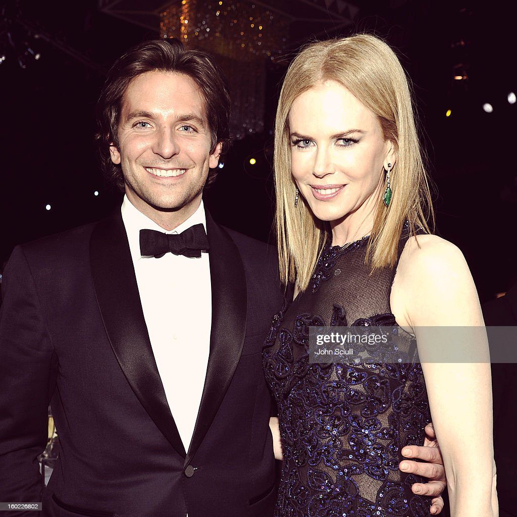 Actors Bradley Cooper and Nicole Kidman attend the 19th Annual Screen Actors Guild Awards at The Shrine Auditorium on January 27, 2013 in Los Angeles, California. (Photo by John Sciulli/WireImage) 23116_015_1306.JPG