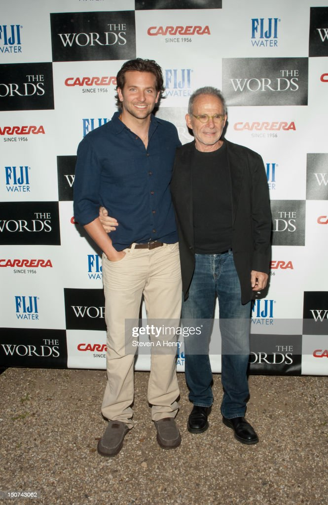 Actors <a gi-track='captionPersonalityLinkClicked' href=/galleries/search?phrase=Bradley+Cooper&family=editorial&specificpeople=680224 ng-click='$event.stopPropagation()'>Bradley Cooper</a> and <a gi-track='captionPersonalityLinkClicked' href=/galleries/search?phrase=Ron+Rifkin&family=editorial&specificpeople=614338 ng-click='$event.stopPropagation()'>Ron Rifkin</a> attends 'The Words' screening at Goose Creek on August 25, 2012 in East Hampton, New York.
