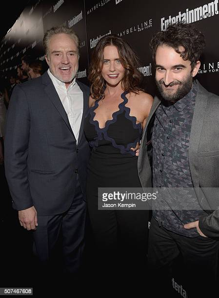 Actors Bradley Whitford Amy Landecker and Jay Duplass attend Entertainment Weekly Celebration Honoring The Screen Actors Guild Awards Nominees...