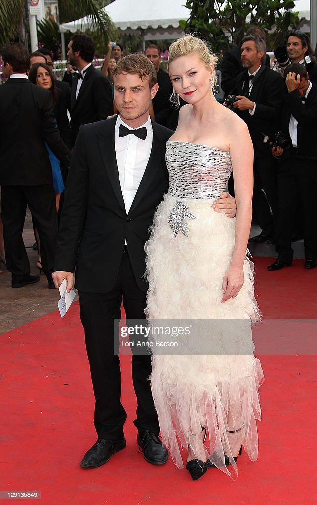 Actors Brady Corbet and Kirsten Dunst attend the 'Les Bien-Aimes' Premiere and Closing Ceremony during the 64th Annual Cannes Film Festival at the Palais des Festivals on May 22, 2011 in Cannes, France.