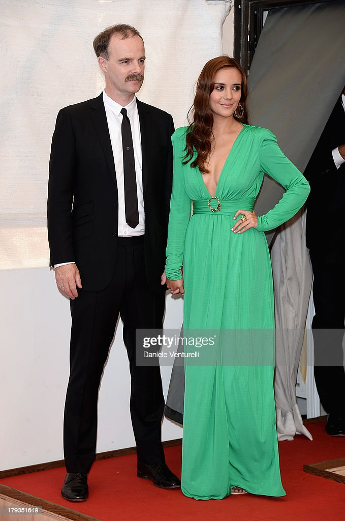 Actors Brían F. O'Byrne and Catalina Sandino Moreno attend 'Medeas' Photocall during the 70th Venice International Film Festival at Palazzo del Casino on September 2, 2013 in Venice, Italy.