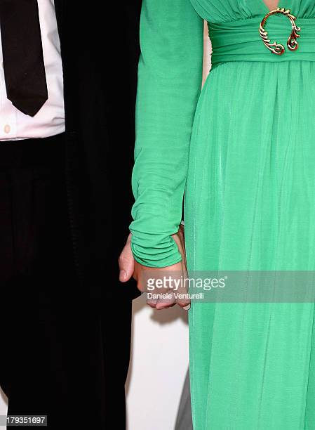 Actors Brían F O'Byrne and Catalina Sandino Moreno attend 'Medeas' Photocall during the 70th Venice International Film Festival at Palazzo del Casino...