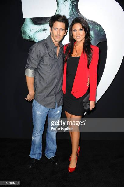 Actors Brandon Beemer and Nadia Bjorlin arrives at the screening of New Line Cinema's 'Final Destination 5' at the Grauman's Chinese Theatre on...